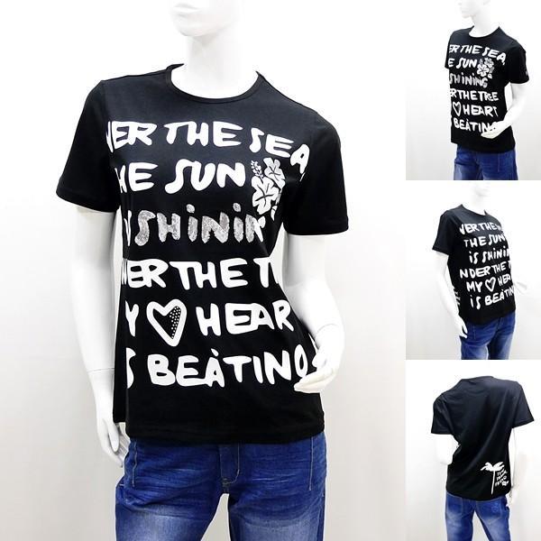 カステルバジャック レディース アウトレット ¥20000+税 [9号/40]半袖 Tシャツ バックショットモデル TOMY TROPICAL FRIEND 90203055     jcTCsl 22170|proud|08