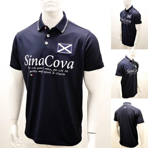 シナコバアウトレット¥22000+税[LL] 半袖 ポロシャツ メンズ Per chi amail mare SINACOVA SARDEGNA 20230052-e          scTCsm 19110510|proud|02