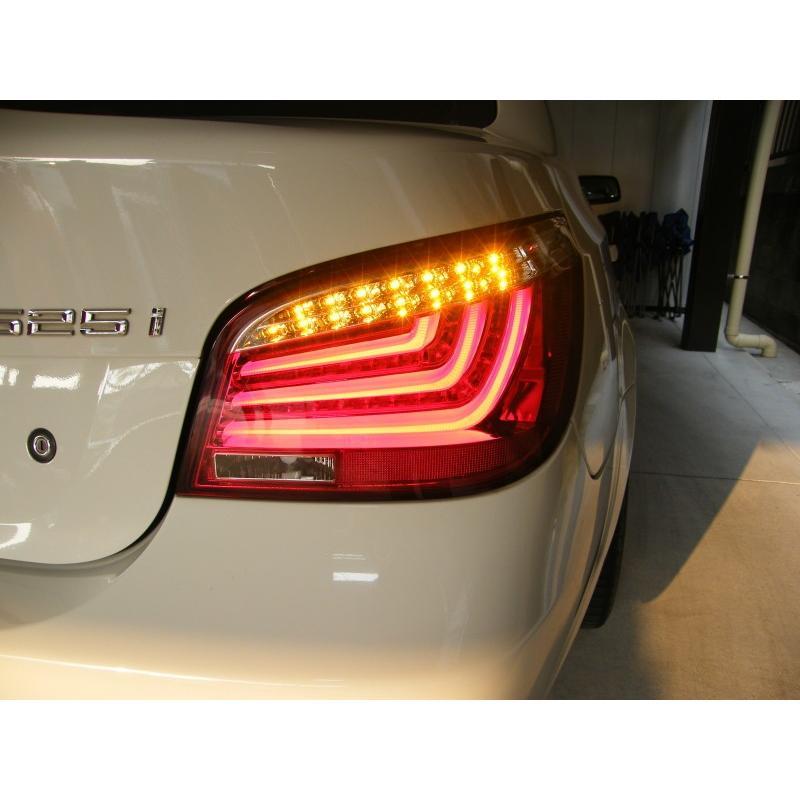 BMW5シリーズ・E60セダン前期用3D/LEDテールランプ/レッド|provice|06