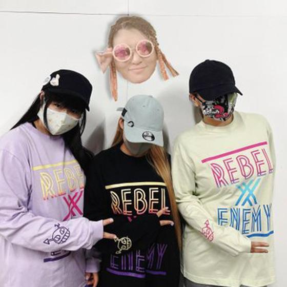 Rebel&EnemyロングTシャツ|prowrestling