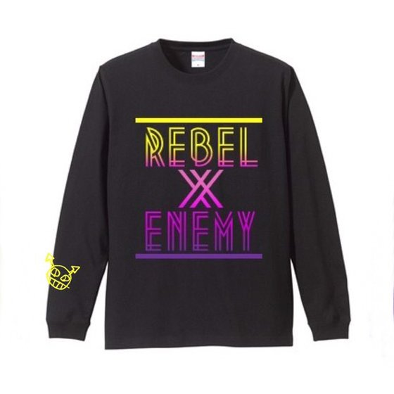 Rebel&EnemyロングTシャツ|prowrestling|02