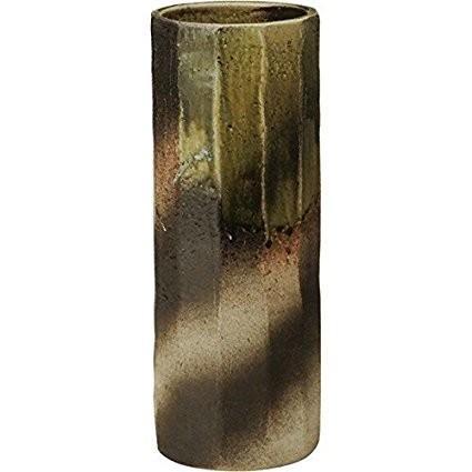信楽焼 ビードロ面取傘立(全高45cm×全幅18.5cm) 信楽焼 ビードロ面取傘立(全高45cm×全幅18.5cm)