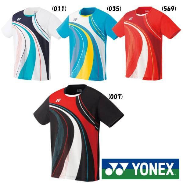 送料無料◆YONEX◆2019年8月下旬発売 メンズ ゲームシャツ(フィットスタイル) 10290 ヨネックス テニス バドミントン ウェア