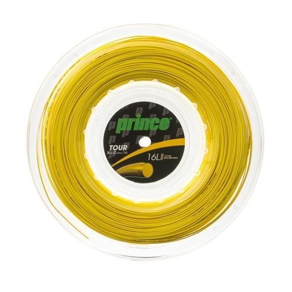 送料無料◆Prince◆ロールガット ツアーXC 16L 7J937 プリンス 硬式テニスストリング