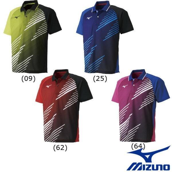送料無料◆MIZUNO◆2019年3月発売◆ユニセックス ゲームシャツ 82JA9007 ミズノ 卓球 ウェア