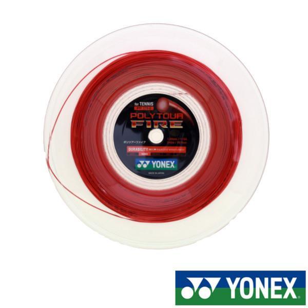 送料無料◆YONEX◆ロールガット ポリツアー ファイア 120 PTF120-2 硬式テニスストリング ヨネックス