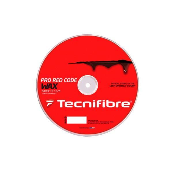 送料無料◆Tecnifibre◆PRO 赤 CODE WAX  1.20mm TFR520 テクニファイバー 硬式テニス ストリング ロールガット