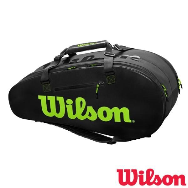 送料無料◆WILSON◆2019年8月発売 スーパーツアー2 ラケットバッグ SUPER TOUR 2 COMP LARGE WR8004201001 ウィルソン バッグ