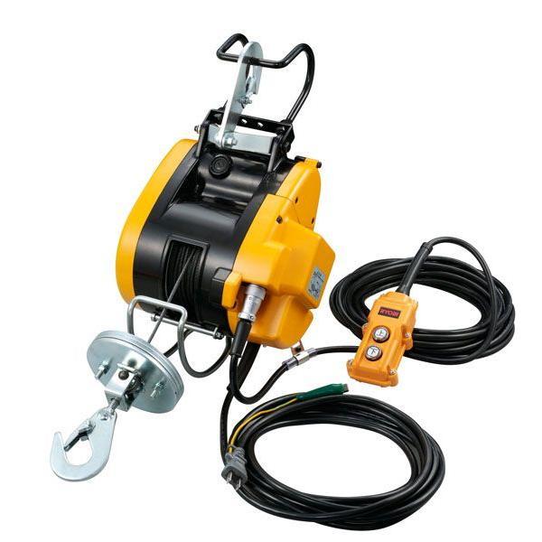 リョービ電動工具 ウインチ 60Kg×ワイヤー21m
