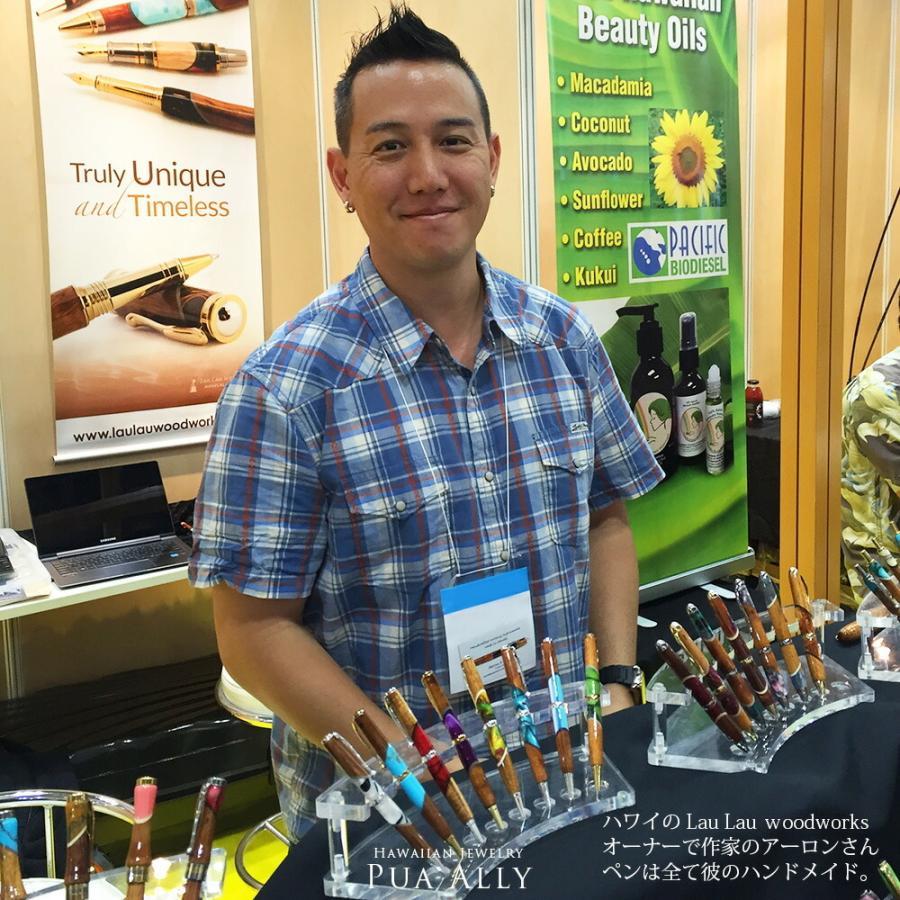 【ハワイアン コアウッド シガー ボールペン】 木製 メンズ 男性 高級ボールペン 人気 ブランド おしゃれ 就職祝い プレゼント お祝い 父の日 還暦 送別会|puaally|10