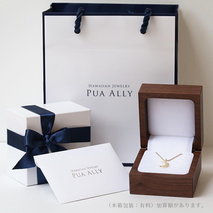 【K14 ウェーブ (波) リング 手彫り】Hawaiian jewelry プアアリ 14金 イエローゴールド レディース メンズ ペア サーフ 指輪 華奢 プレゼント 女性|puaally|09