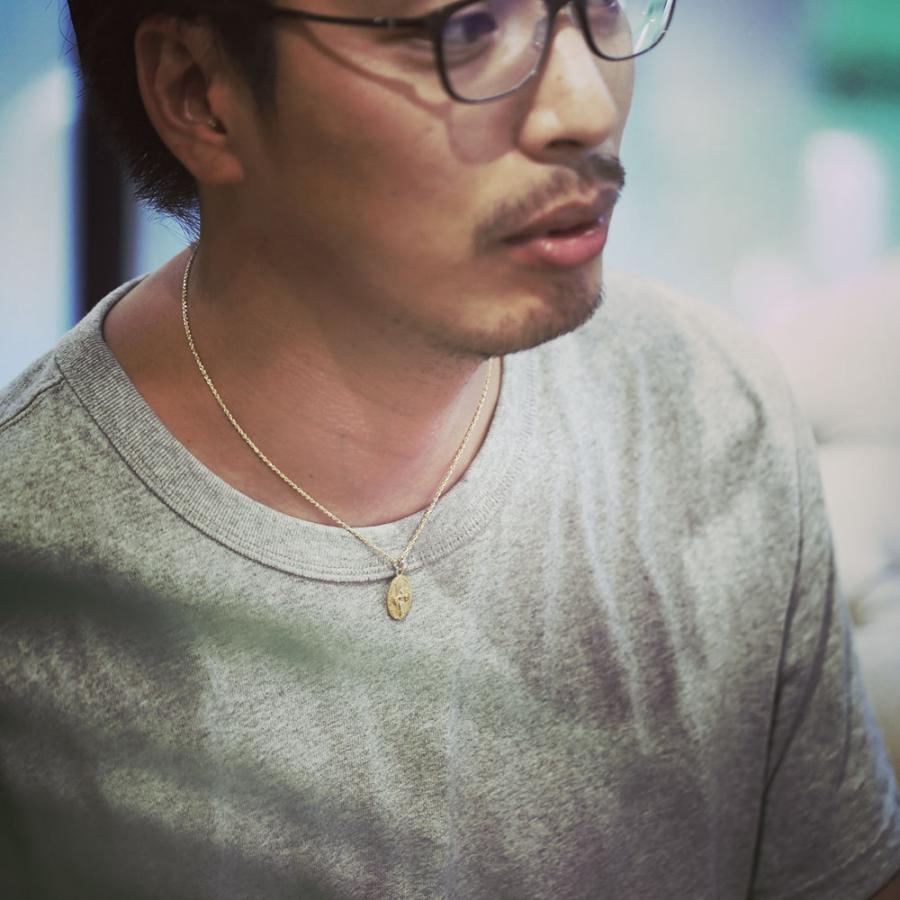 【K14 デュークカハナモク ペンダントトップ】 チェーン別売り14金 ハワイアンジュエリー Hawaiian jewelry Puaally レディース メンズ ペア サーフィン 男性|puaally|07