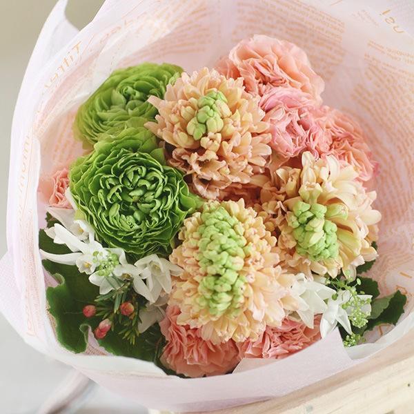 【来店受取限定】プアラニおまかせ花束 3500円 pualani-flowers 02
