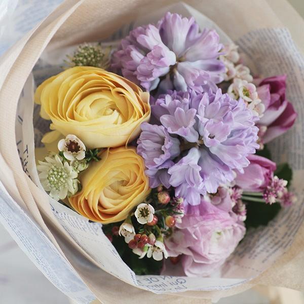 【来店受取限定】プアラニおまかせ花束 3500円 pualani-flowers 03