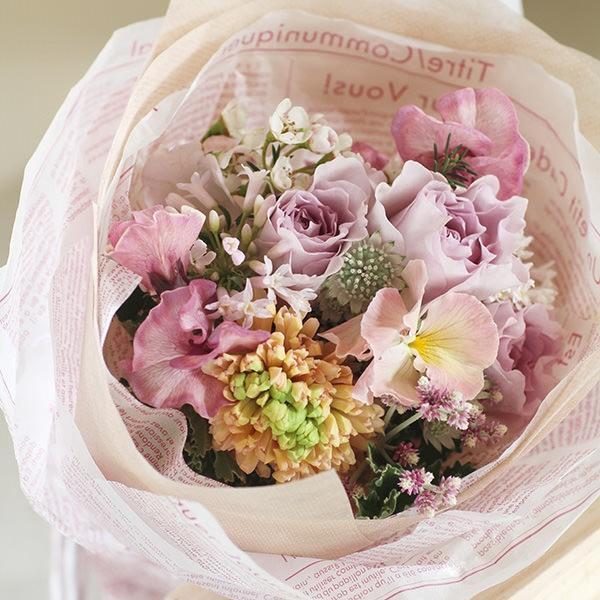 【来店受取限定】プアラニおまかせ花束 3500円 pualani-flowers 04