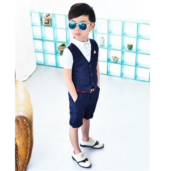 600c3070960cb 入学式スーツ フォーマル 七五三 男の子 韓国風 上下2点セット 子供 ...