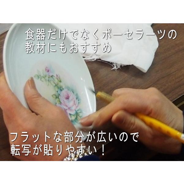 取り皿 使いやすい おしゃれ 小皿 15cm中華プレート ニューボン レンジ可 食洗機対応 安い 分ける ポーセラーツ puchiecho 02