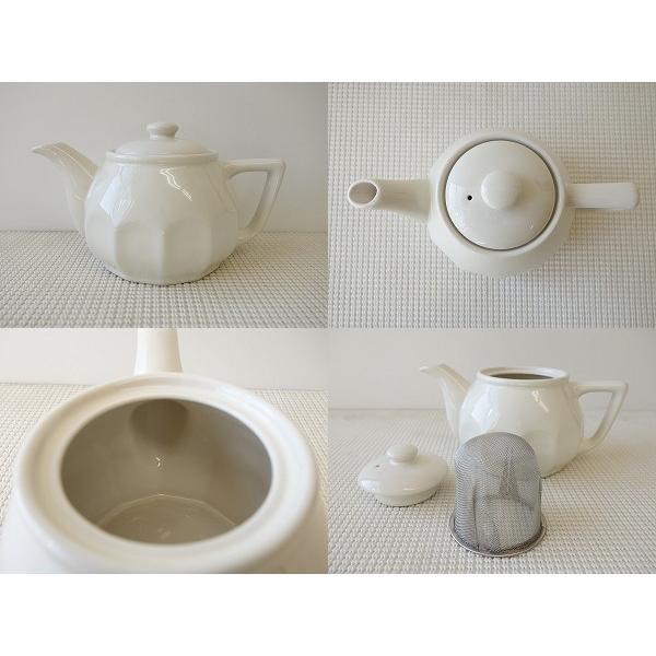 (訳あり)茶こし付きパルテノン神殿の柱のような彫刻入りティーポット/茶漉し 茶道具 茶器 急須 日本製 アウトレット 通販 販売\|puchiecho|02