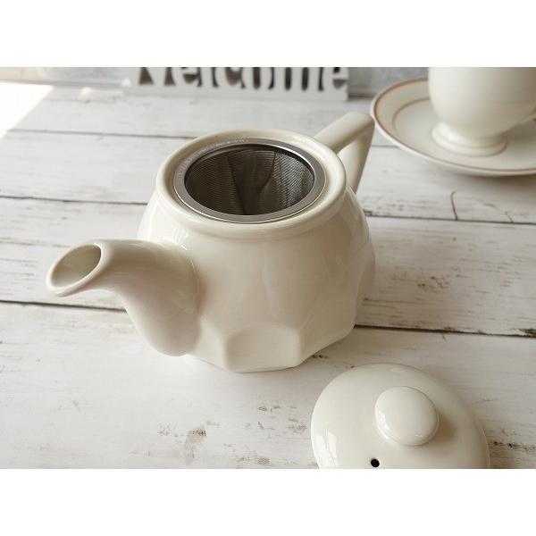 (訳あり)茶こし付きパルテノン神殿の柱のような彫刻入りティーポット/茶漉し 茶道具 茶器 急須 日本製 アウトレット 通販 販売\|puchiecho|03