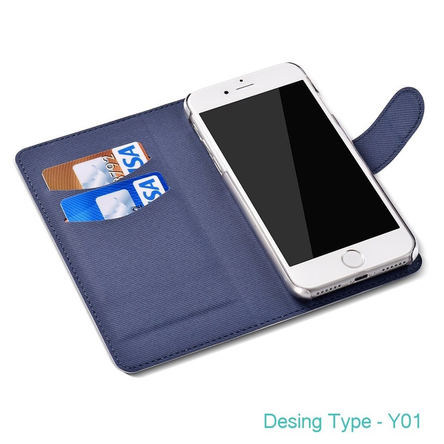 iphoneケース スタンドにもなる片面手帳型 かわいいパグ(フォーン&黒パグ)(ぱぐ グッズ)|pugbiiki|05