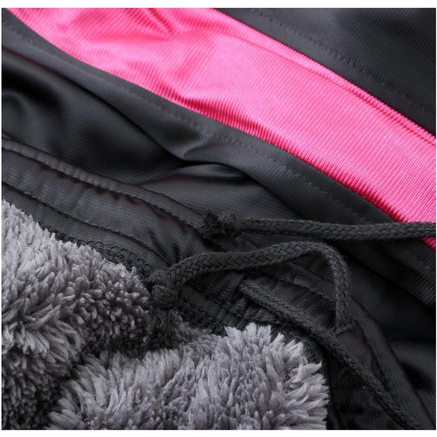 究極暖かい 裏ボア ジャージパンツ・ズボン/冬の外活動に最適 スポーツ・ウォーキング・ルームウエアなど/トリコット素材の伸縮性、裏ボアの防寒性と肌触り・ス|puick|04