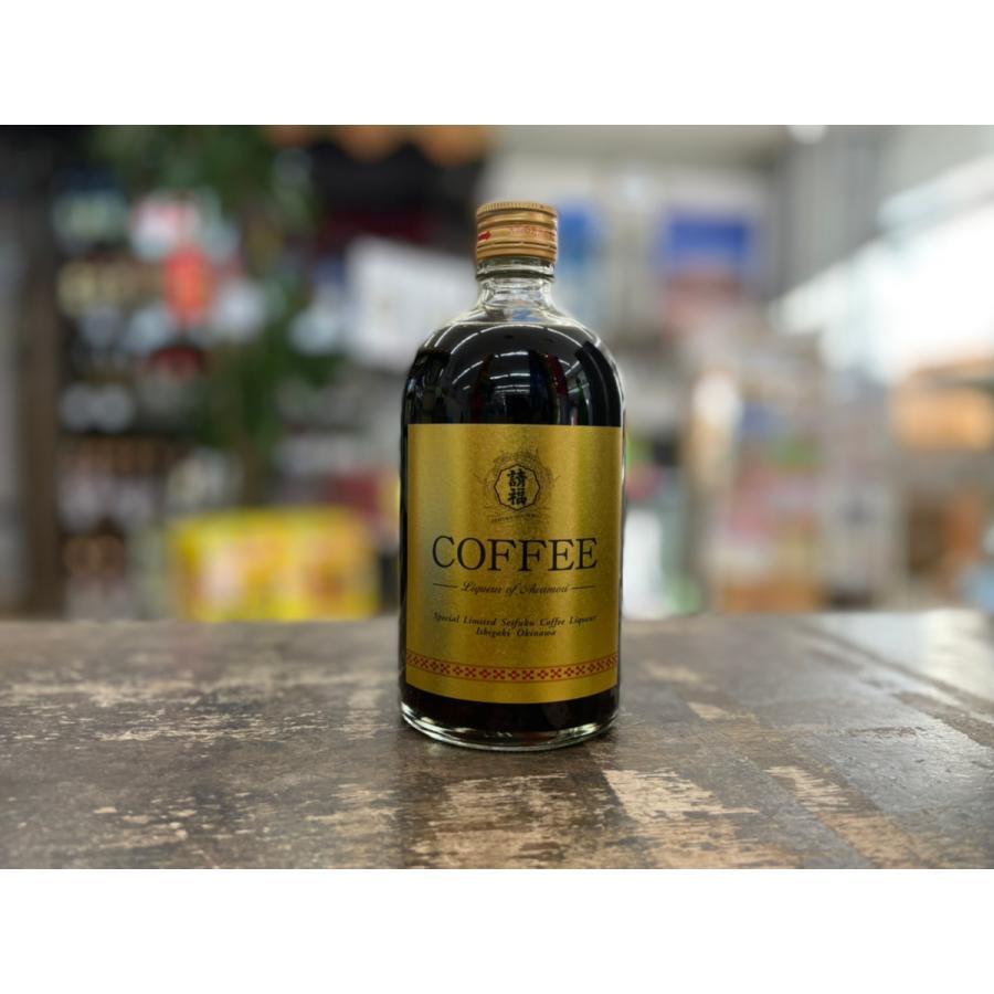 【請福酒造】請福COFFEコーヒー 12度 500ml|pukarasuya
