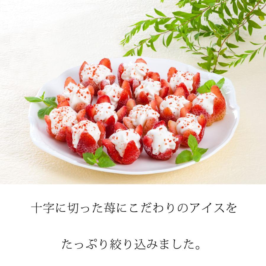 【送料無料】【ICE Gift】お花のようないちごアイス<15個入> 誕生日プレゼント お祝い 贈り物 お礼 スイーツ ギフト プレゼント 夏のひんやりスイーツ|pulchrade-shop|02