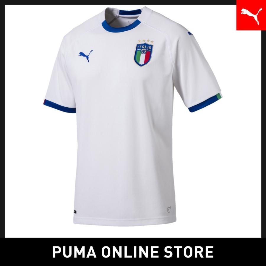 プーマ PUMA FIGC ITALIA アウェイ レプリカ SSシャツ メンズ サッカー ユニフォーム 半袖