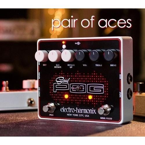 Electro-Harmonix Soul POG Soul Food + POG オクターバー オーバードライブ 並行輸入品