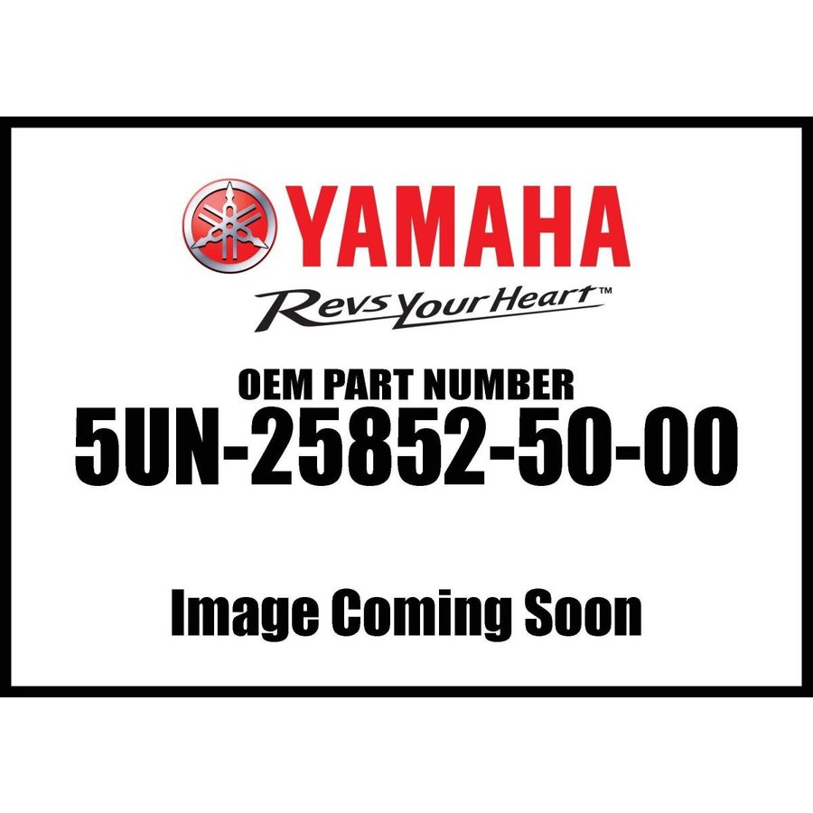Yamaha 5UN-25852-50-00 Cap Reservoir; 5UN258525000 Made by Yamaha