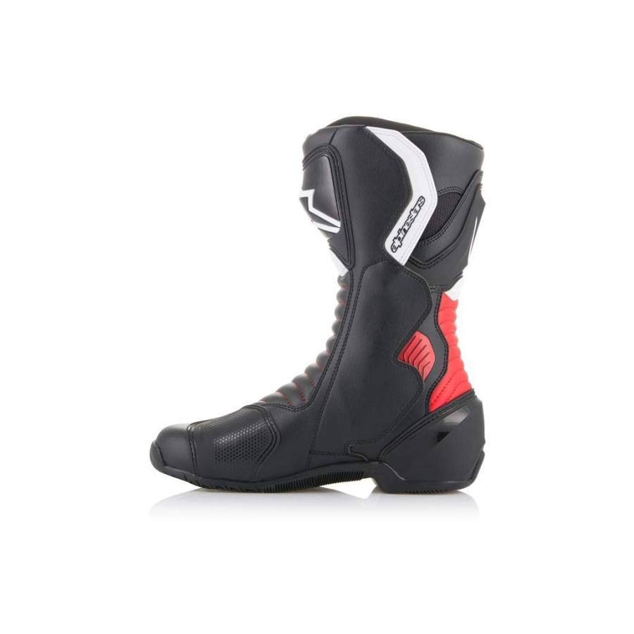 alpinestars(アルパインスターズ)バイクブーツ ブラック/レッド 40/25.5cm SMX6(エスエムエックス6)ブーツ3017 1691