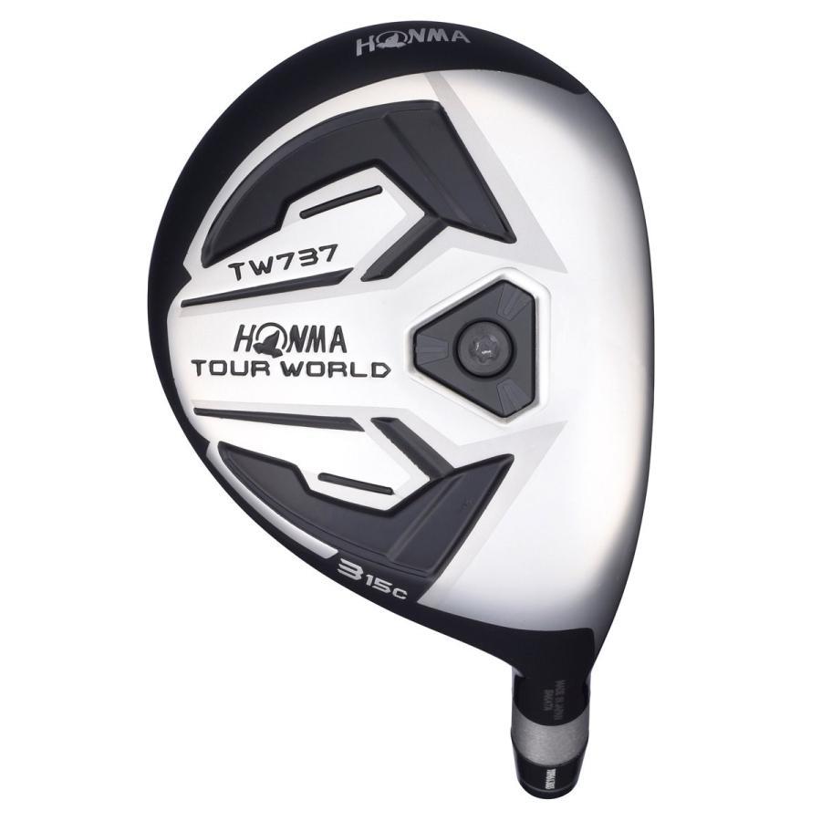 本間ゴルフ フェアウェイウッド TOUR WORLD ツアーワールド TW737 FWc フェアウェイウッド 5W(18度) VIZARD EX-Z