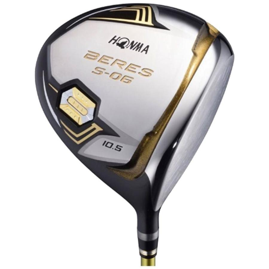 本間ゴルフ ドライバー BERES S-06 ドライバー ARMRQ X-43 3S シャフト カーボン メンズ S-06 DR 右 ロフト角:9.5