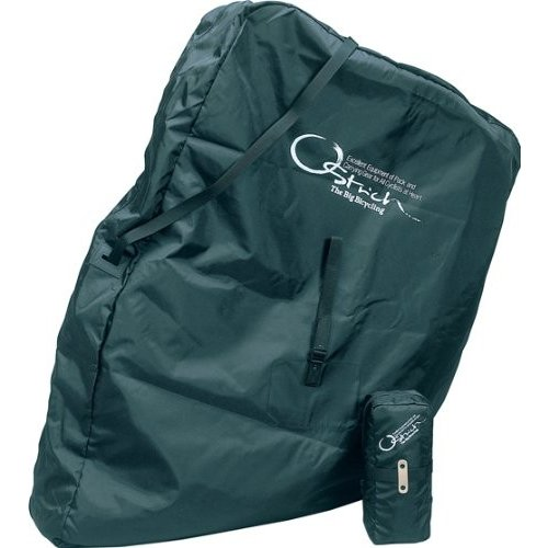 OSTRICH(オーストリッチ) 輪行袋 [ロード520] ブラック リア用エンド金具(旧)付属