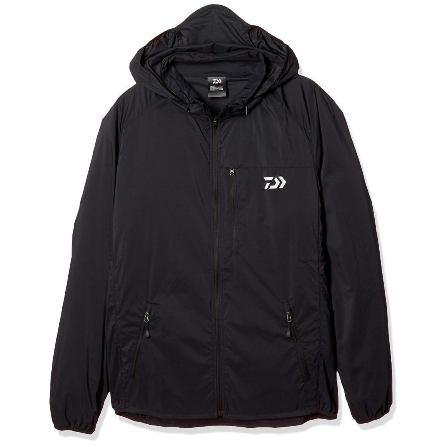 ダイワ(DAIWA) ポケッタブルウィンドジャケット DJ-33009 ブラック XL