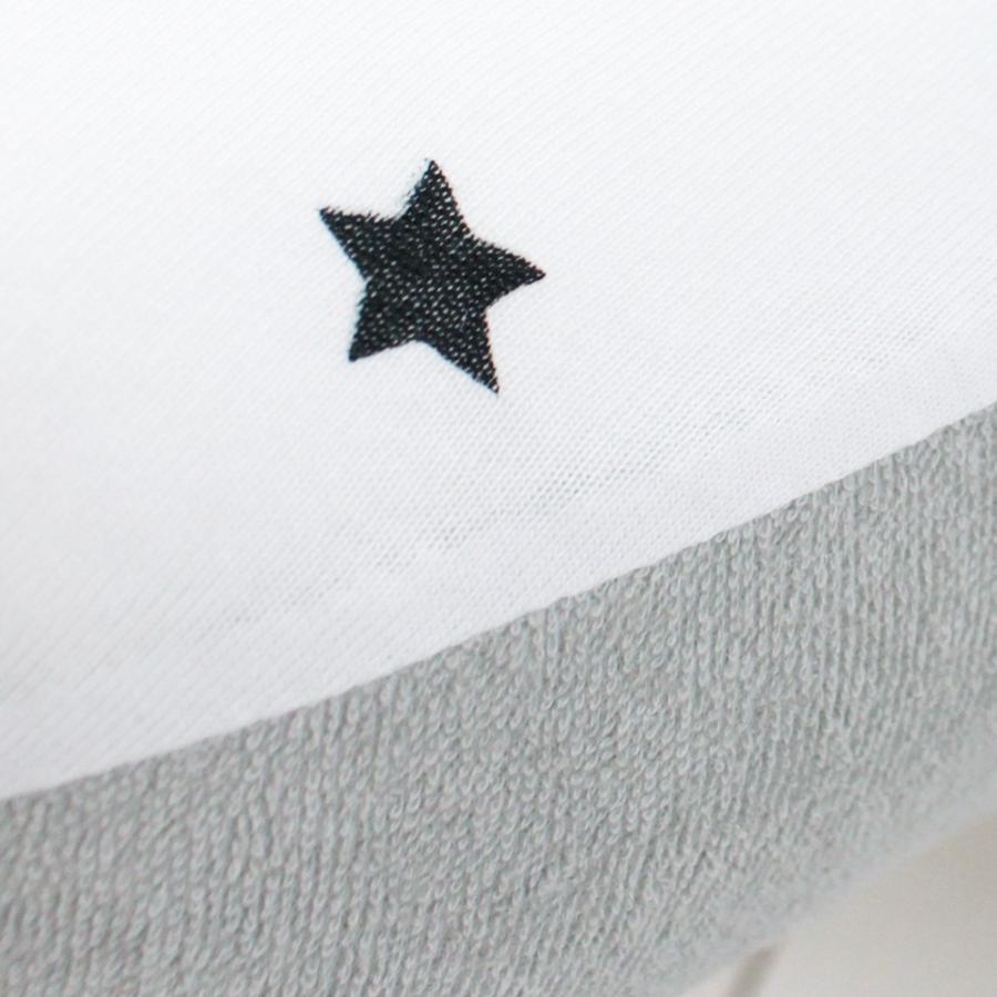 洗える 授乳クッション&サポート枕 トゥインクルスター 星柄 授乳 母乳 クッション 抱き枕 パパママクッション 腕枕 うでまくら|puppapupo|13