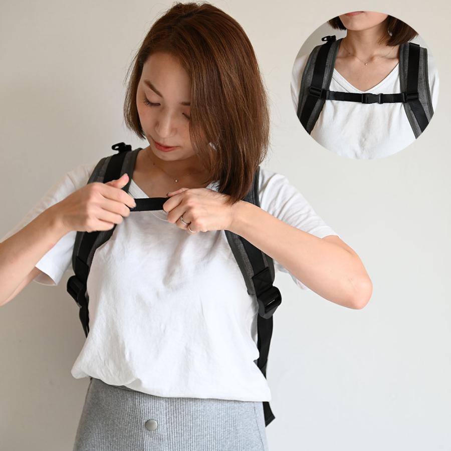 マザーズリュック リフレクタースターチャーム付き マザーズバッグ 背面ポケット 大容量 軽量 おしゃれ リュック バッグ puppapupo 15