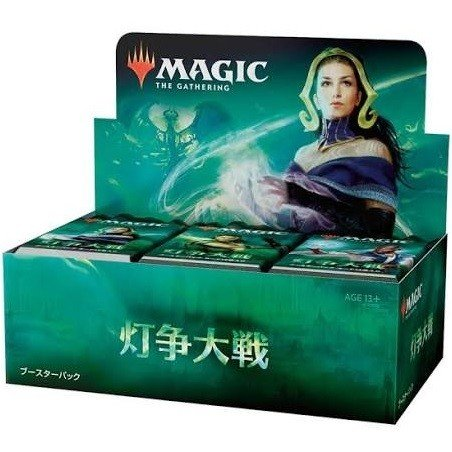 MTG 日本語版 マジック:ザ・ギャザリング 灯争大戦 ブースターパック BOX