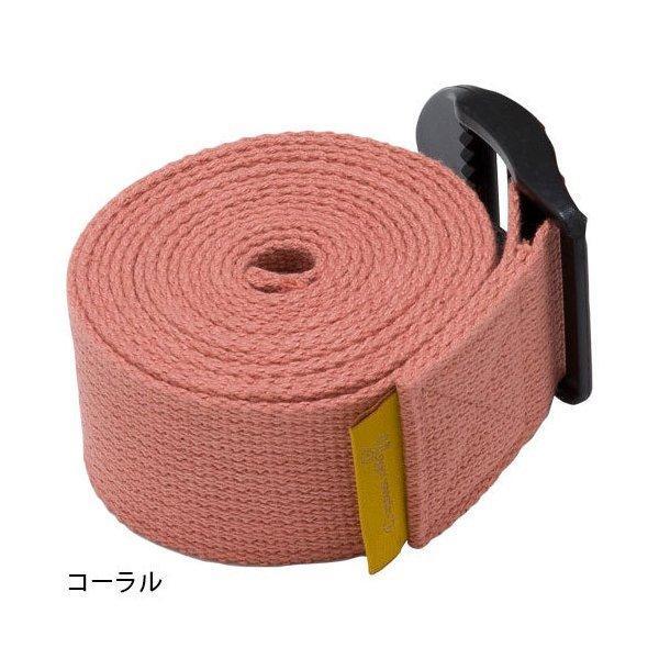 Yogaworks ヨガワークス ヨガベルト 240cm トラップ サポート グッズ ピラティス ストレッチ コットン 補助|puravida|02