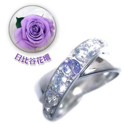 【最安値】 ダイヤモンド指輪 12月誕生石K18ホワイトゴールドタンザナイト ダイヤモンドリング 母の日 限定 母の日 限定 安い 日比谷花壇誕生色バラ付 安い, 花水木:6e36e4a0 --- lighthousesounds.com