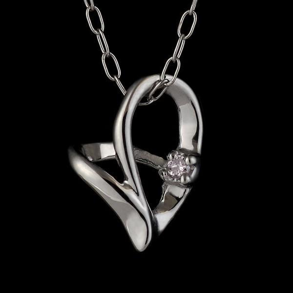 【日本産】 ピンクダイヤモンド ネックレス ハート ダイヤモンド ネックレス 一粒 ネックレス ホワイトゴールド ハート 一粒 安い, 養父市:bd8b3cc9 --- airmodconsu.dominiotemporario.com