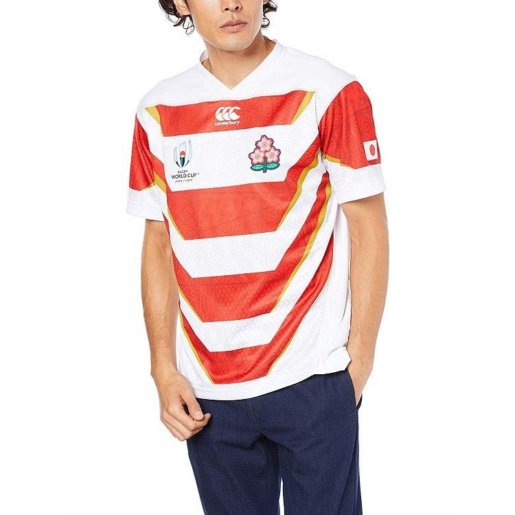 XLサイズ [カンタベリー] 【公式商品】ラグビーワールドカップ2019 日本代表公式レプリカ ホームジャージ(RWC2019 JAPAN REPLICA HOME JERSEY)VWR39000
