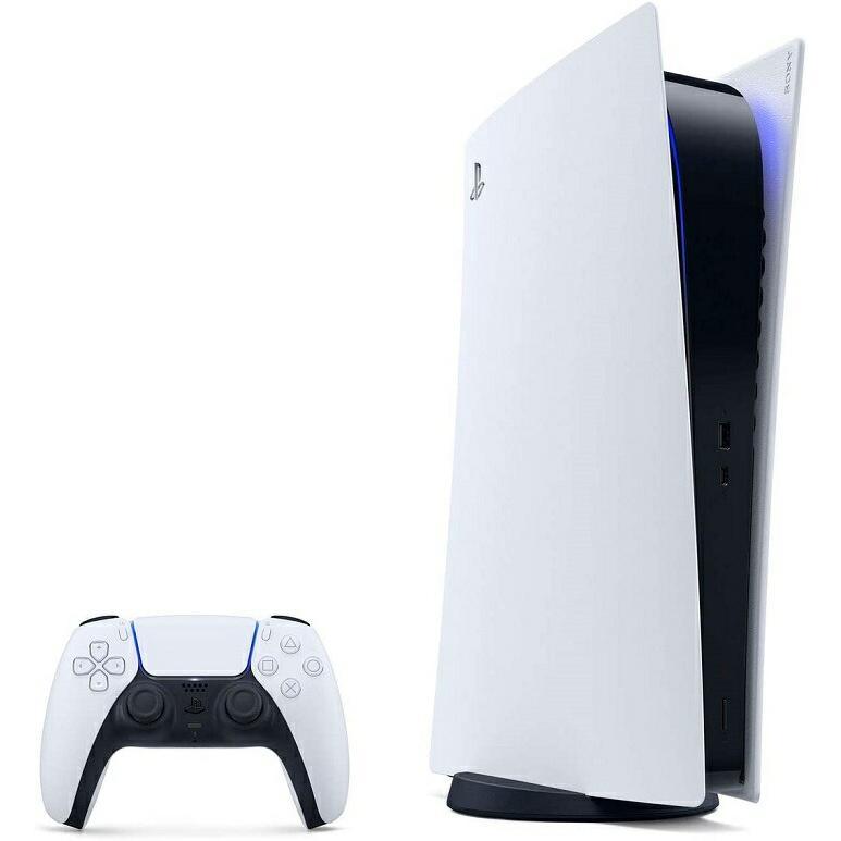 PS5新デ【300g軽量版】【新品】【新型】 PlayStation5 デジタル・エディション 本体【CFI-1100B01】【新品・国内正規品】【ディスク非搭載】【送料無料】PlaySta|puremiamuserekuto