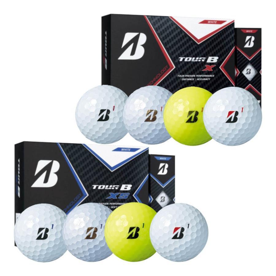 ブリヂストンゴルフ ゴルフボール NEW TOUR B XS 1ダース X 卓抜 2020年モデル 買物