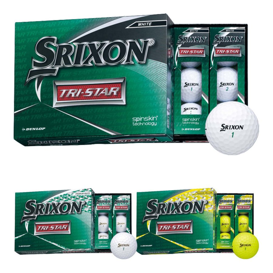 ダンロップ スリクソン トライスター 2ダースセット 流行 ゴルフボール TRI-STAR 大注目