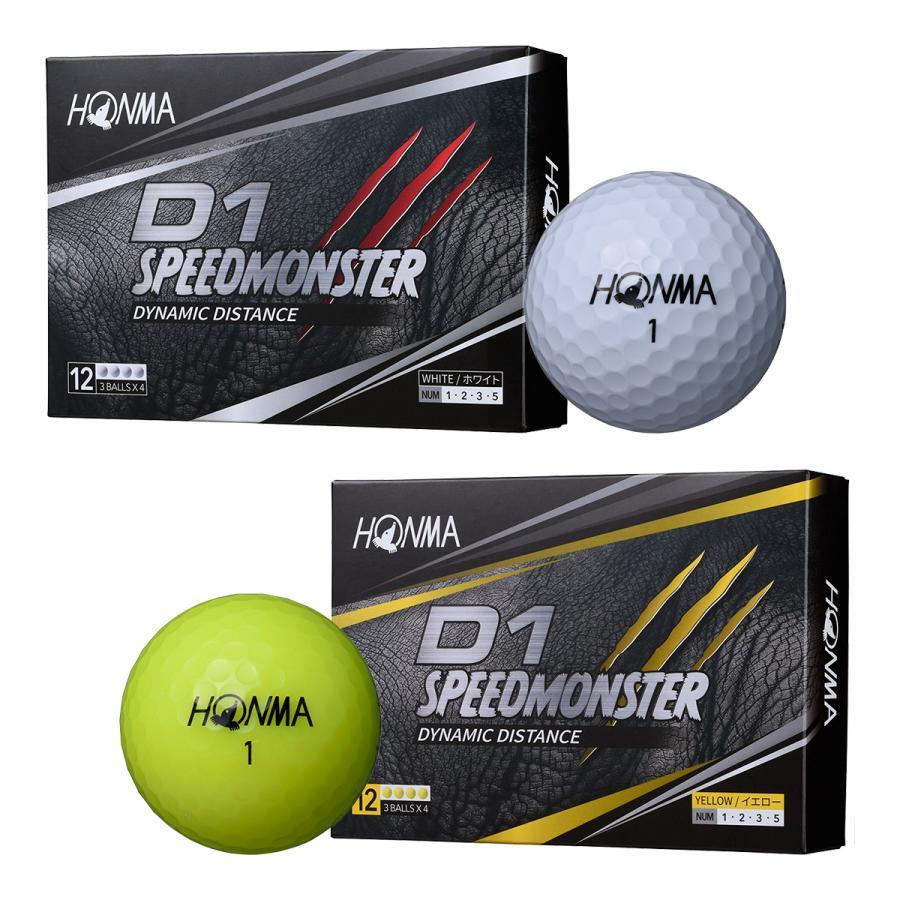 本間ゴルフ HONMA D1 スピードモンスター SPEED BT2003 高価値 MONSTER BTQ2003 ゴルフボール ショッピング 1ダース