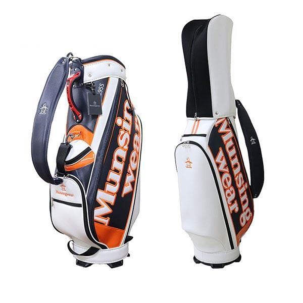 ☆正規品新品未使用品 マンシングウェア ゴルフ キャディバッグ 新作 大人気 9.5型 プレストオリジナルモデル MQBPJJ12KA