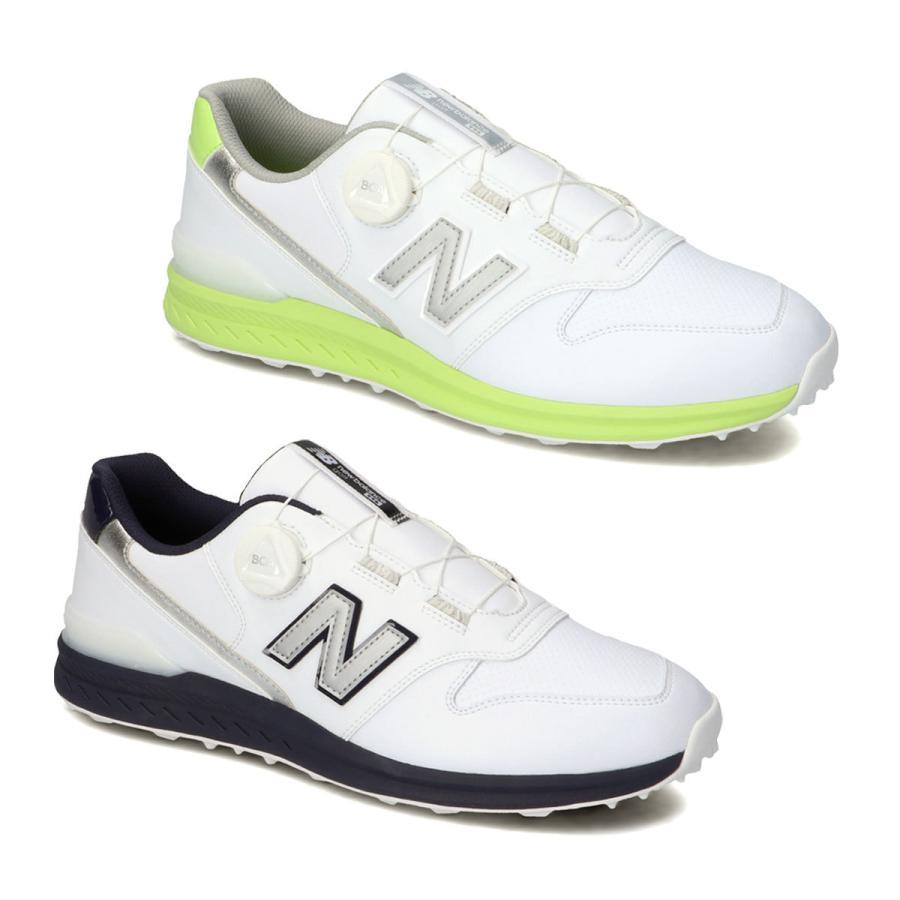 ニューバランス 爆買いセール ゴルフシューズ 好評 スパイクレス D相当 ユニセックス UGBS996 ボア