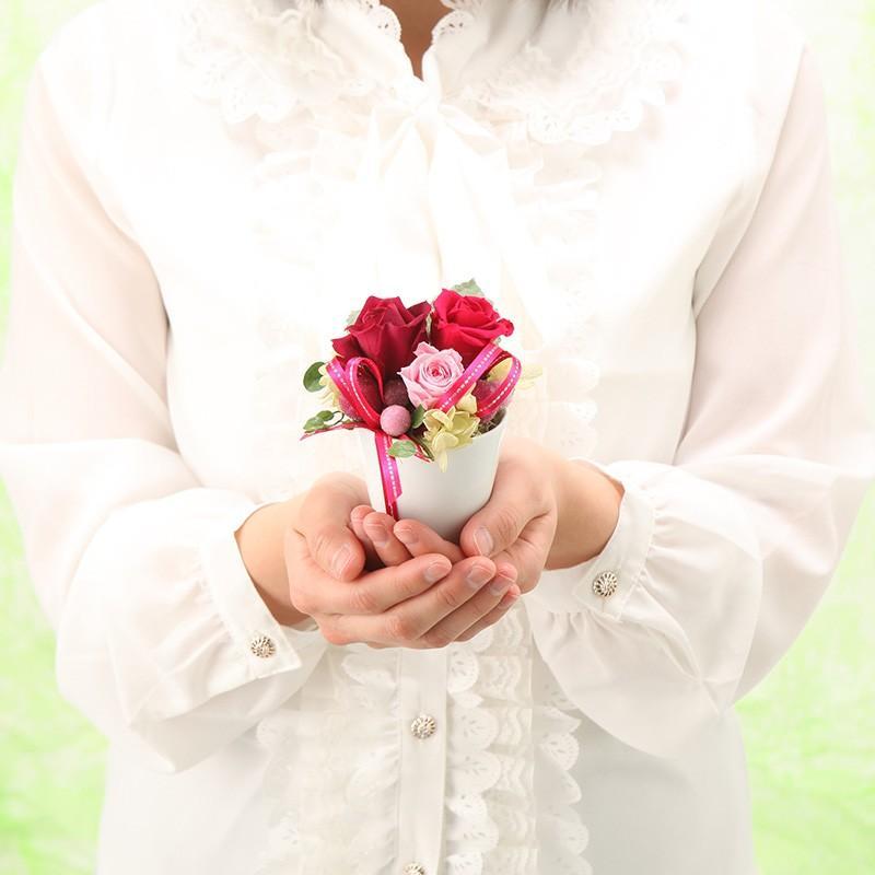 母の日 プリザーブドフラワー ギフト プレゼント 誕生日 記念日 父の日 クリスマス 結婚 出産 入学 卒業 バレンタイン バラ エレノア|purizasenka|13