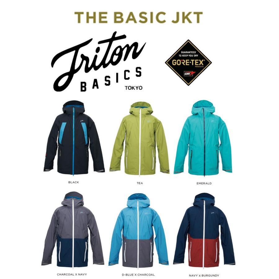 スノーボード スノボ ウエア 2018-2019 TRITON トライトン BASIC JACKET GORE-TEX ゴアテックス